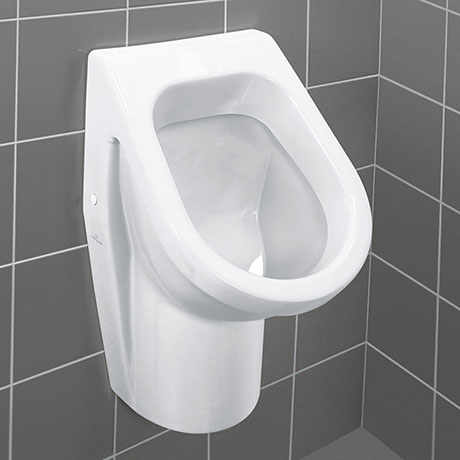 Villeroy and Boch Architectura Siphonic Urinal with Concealed Water Inlet - 55740001