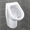 Villeroy and Boch Architectura Siphonic Urinal with Concealed Water Inlet - 55740001 profile small image view 1