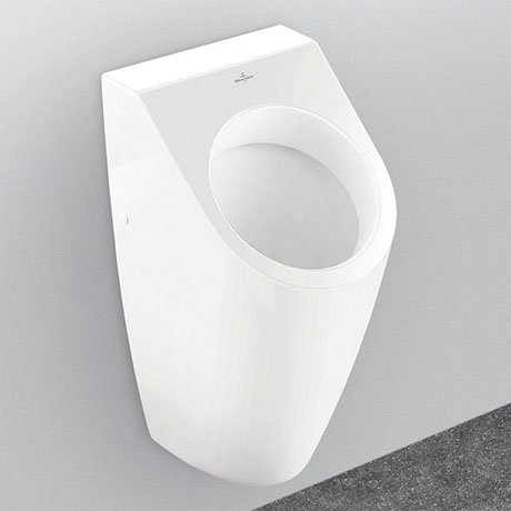 Villeroy and Boch Architectura Siphonic Urinal with Concealed Water Inlet - 55860001