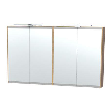 Miller - London 120 Mirror Cabinet - Oak - 56-5
