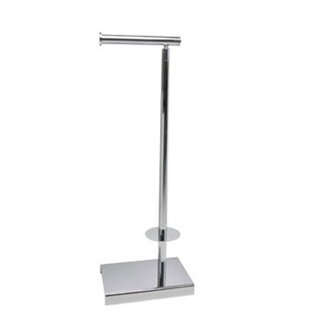 Miller - Classic Freestanding Toilet & Spare Roll Holder - 5656CH profile large image view 2