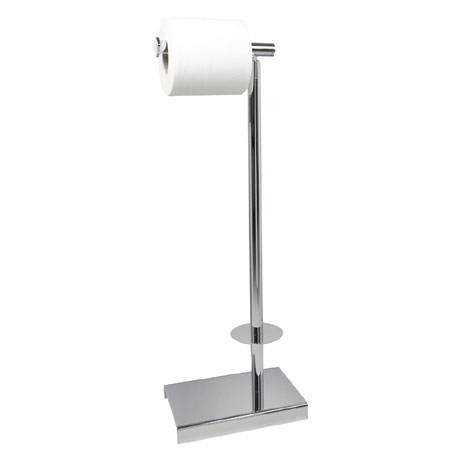 Miller - Classic Freestanding Toilet & Spare Roll Holder - 5656CH