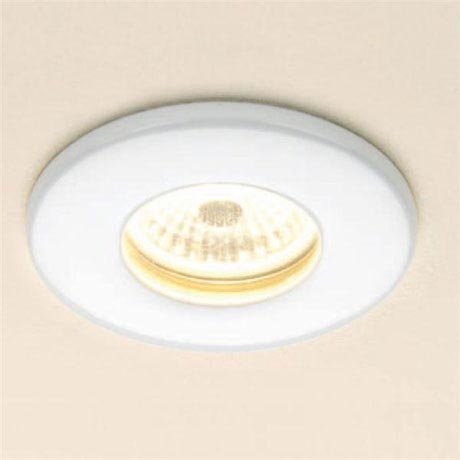 HIB White Fire Rated LED Showerlight - Warm White - 5770