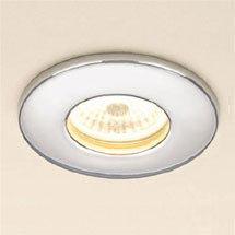 HIB Chrome Fire Rated LED Showerlight - Warm White - 5780 Medium Image