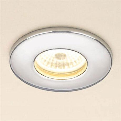 HIB Chrome Fire Rated LED Showerlight - Warm White - 5780