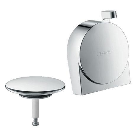 hansgrohe Exafill S Finish Set Bath Filler Waste & Overflow Set - Chrome - 58117000