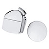 hansgrohe Exafill Finish Set Bath Filler Waste & Overflow Set - 58127000 profile small image view 1