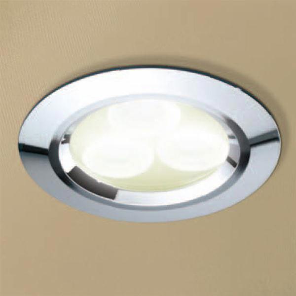 HIB Chrome LED Showerlight - Warm White - 5820 profile large image view 1