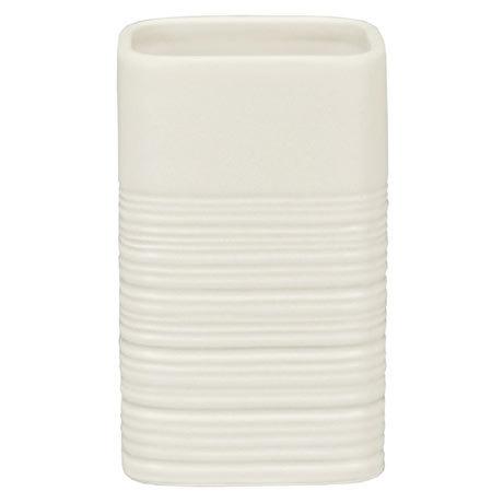 Kleine Wolke Raffi Dune Tumbler - White - 5859-100-852