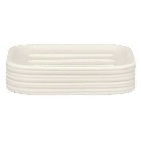 Kleine Wolke Raffi Dune Soap Dish - White - 5859-100-853