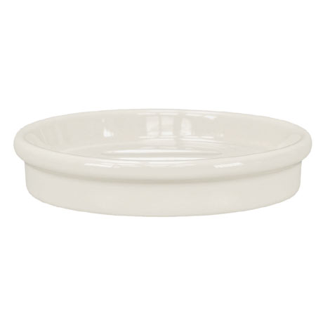 Kleine Wolke Raffi Volute Soap Dish - Snow White - 586-111-4853