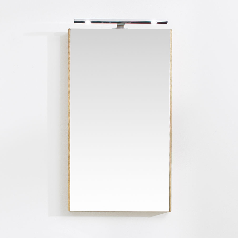 Miller - London 40 Mirror - White - 59-2 Profile Large Image