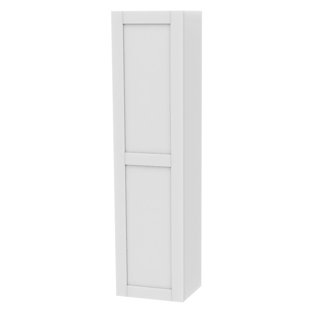 Miller - London Tall Cabinet - White Large Image