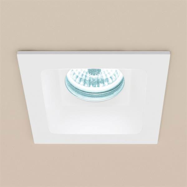 HIB Calibre Square Recessed LED Showerlight - Cool White - 5950 Large Image