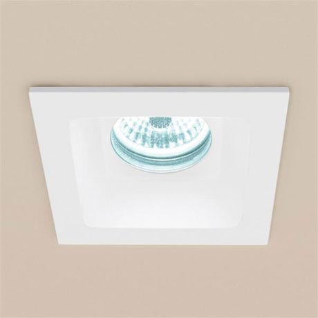 HIB Calibre Square Recessed LED Showerlight - Cool White - 5950