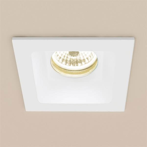 HIB Calibre Square Recessed LED Showerlight - Warm White - 5960 Large Image