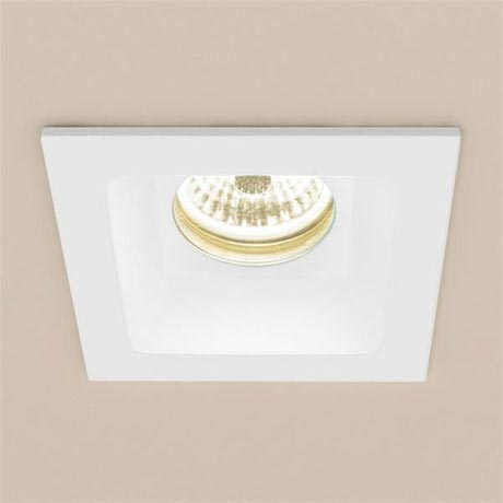 HIB Calibre Square Recessed LED Showerlight - Warm White - 5960