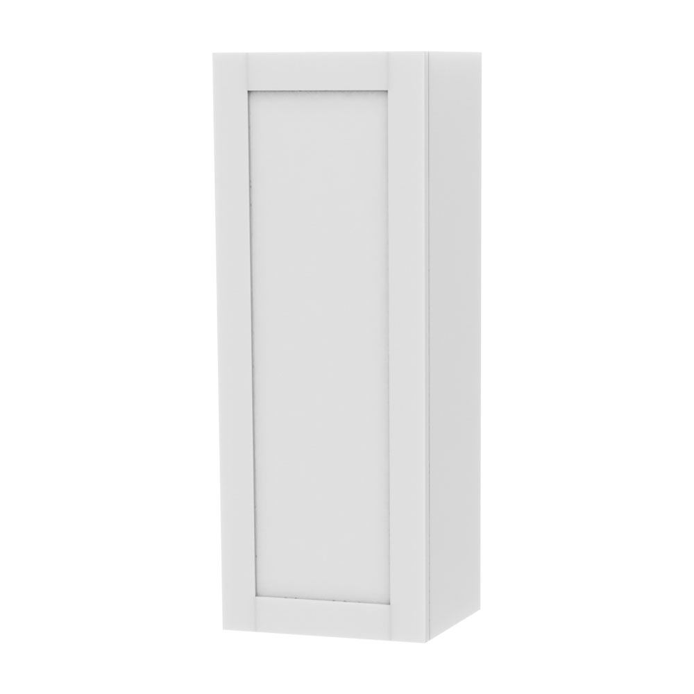 Miller - London Storage Cabinet with Door Storage - White profile large image view 1
