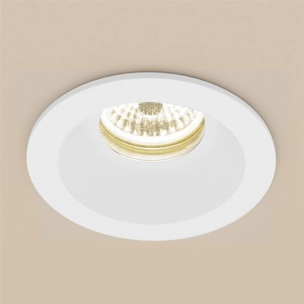 HIB Calibre Round Recessed LED Showerlight - Warm White - 5980 Large Image