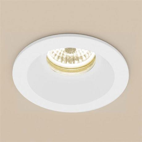 HIB Calibre Round Recessed LED Showerlight - Warm White - 5980