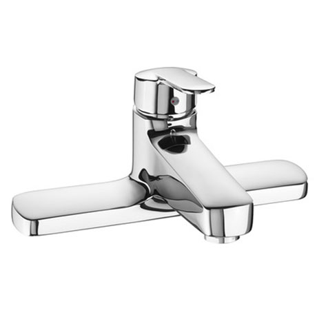 Roca Victoria V2 Chrome Deck Mounted Bath Filler - 5A1925C00
