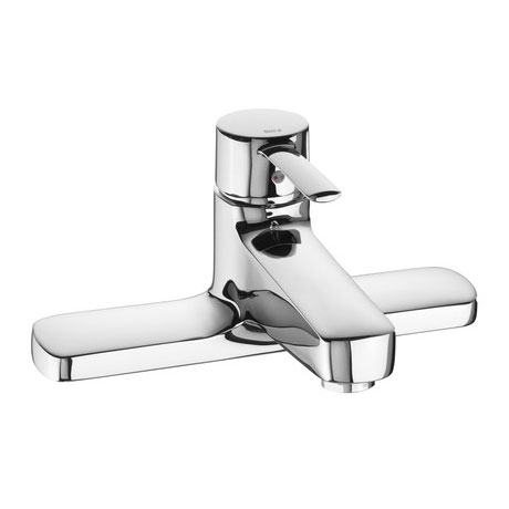 Roca Targa Chrome Deck Mounted Bath Filler - 5A1960C00