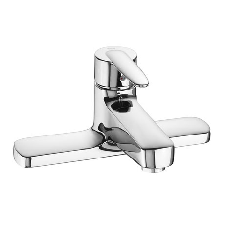Roca Vectra Chrome Deck Mounted Bath Filler - 5A1961C00