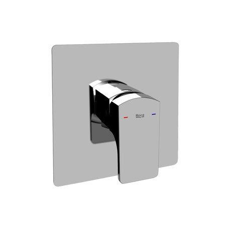 "Roca L90 Chrome 1/2"" Built-in Bath or Shower Mixer - 5A2201C00 Large Image"