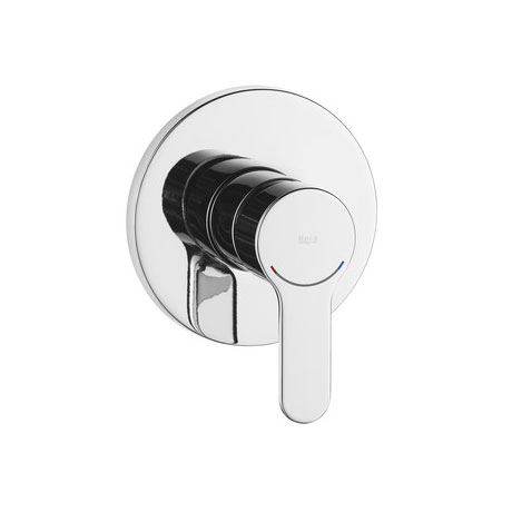 "Roca L20 Chrome 1/2"" Built-in Bath or Shower Mixer - 5A2209C00 Large Image"