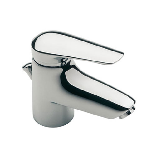 Roca Monojet-N Chrome Basin Mixer Tap with Pop-up Waste - 5A3039C00 Large Image