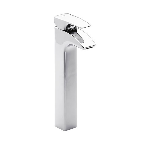 Roca Thesis Chrome Extended Basin Mixer with Pop-up Waste - 5A3450C00