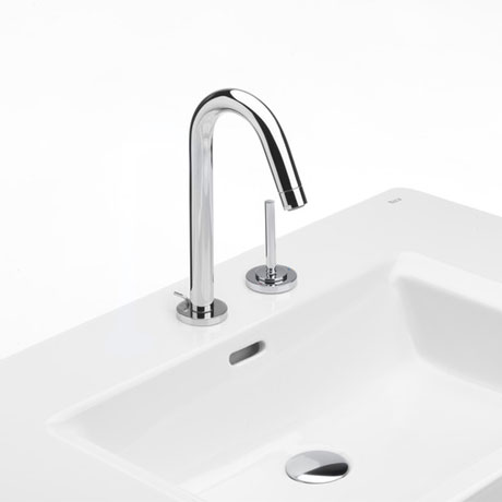 Roca Singles Pro Chrome Basin Mixer with Joystick Control & Pop-up Waste - 5A3819C00