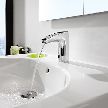 Roca - M3-E Infra-Red Battery Operated Electronic Basin Mixer Tap ? Chrome - 5A5602C00