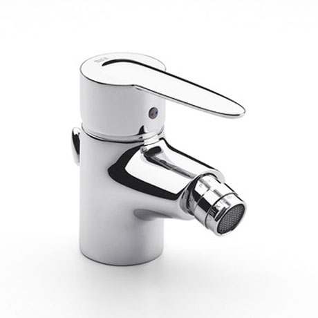 Roca Vectra Chrome Bidet Mixer with Pop-up Waste - 5A6061C00