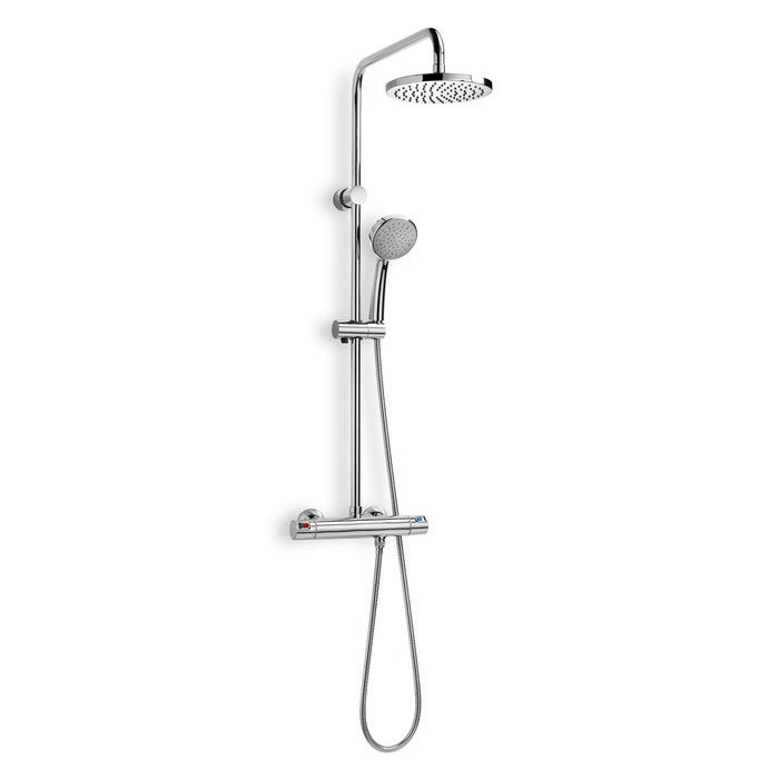 Roca Victoria Thermostatic Shower Column - 5A9718C00 Large Image