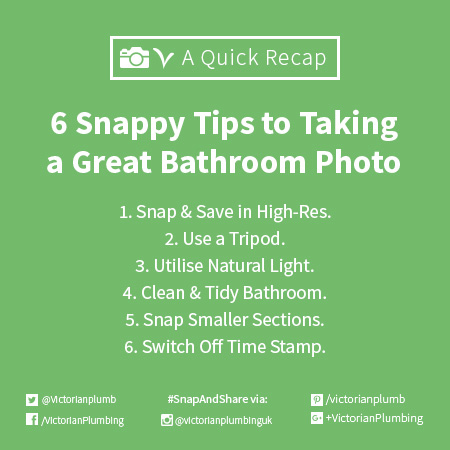 How To Take A Good Photo Of Your Bathroom
