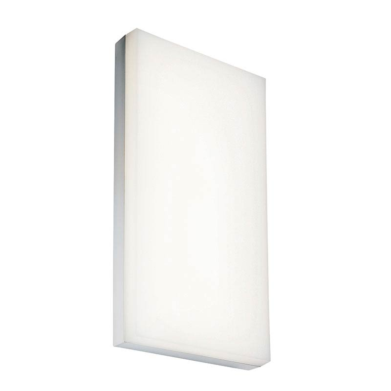 Saxby Nada LED Rectangular Bathroom Light Fitting profile large image view 1