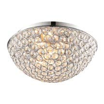 Endon Chryla Flush Bathroom Ceiling Light Fitting Medium Image