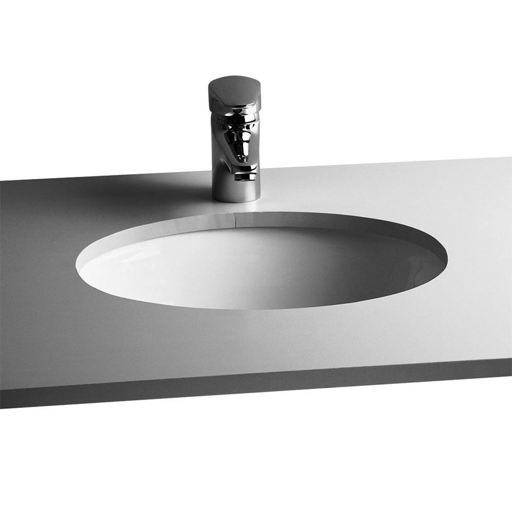 Vitra - S20 Under Counter Oval Basin - 3 Size Options profile large image view 1