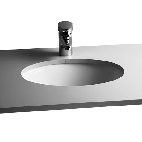 Vitra - S20 Under Counter Oval Basin - 3 Size Options