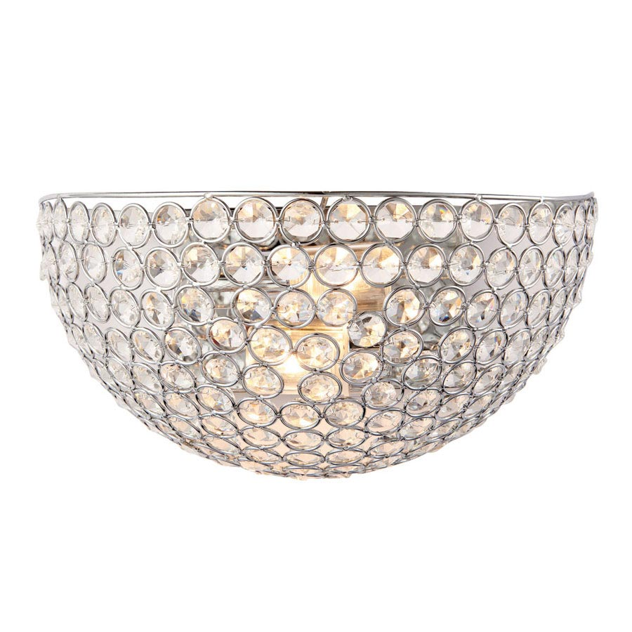 Endon Chryla Bathroom Wall Light Fitting Large Image