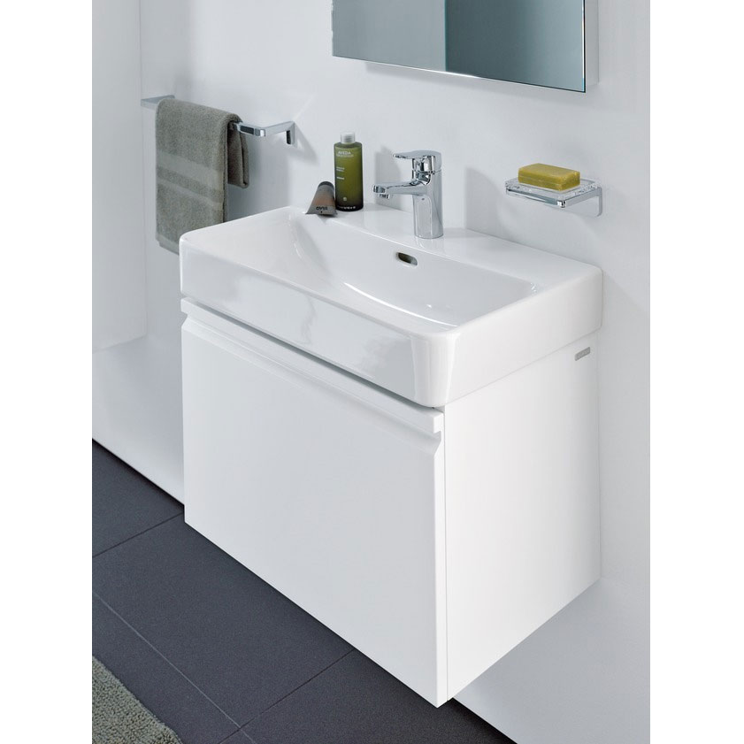 Laufen - Pro S 810mm 1 Drawer Vanity Unit and Basin - 2 x Colour Options profile large image view 3