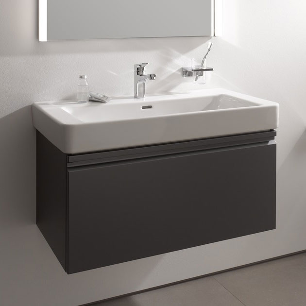 Laufen - Pro S 810mm 1 Drawer Vanity Unit and Basin - 2 x Colour Options profile large image view 5