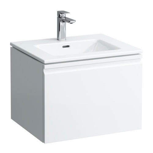 Laufen - Pro S 600mm 1 Drawer Vanity Unit and Basin - 2 x Colour Options Large Image