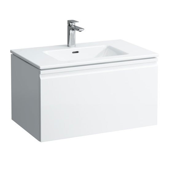 Laufen - Pro S 800mm 1 Drawer Vanity Unit and Basin - 2 x Colour Options Large Image