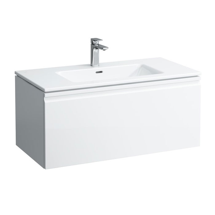 Laufen - Pro S 1000mm 1 Drawer Vanity Unit and Basin - 2 x Colour Options Large Image