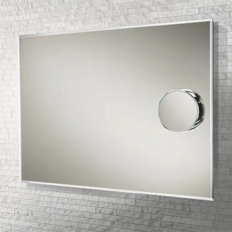 HIB Focal Rectangular Mirror with Magnetic Magnifying Mirror - 61014095
