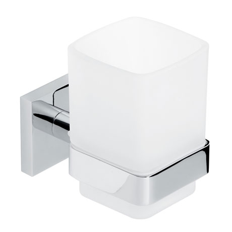 Roper Rhodes Pace Frosted Glass Toothbrush Holder - 6116.02