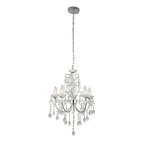 Endon Tabitha Pendant Bathroom Ceiling Light Fitting
