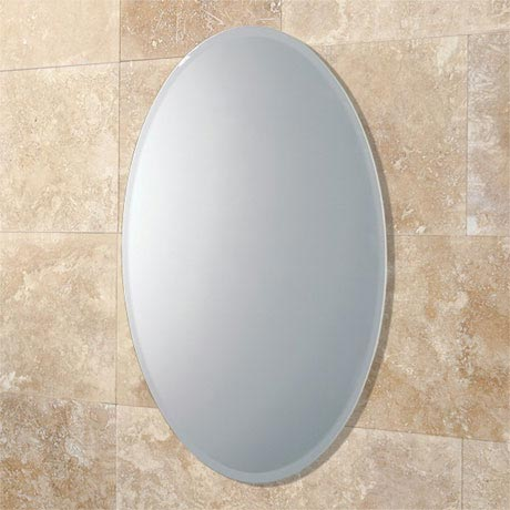 HIB Alfera Oval Bathroom Mirror - 61643000